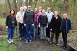 Unser Kreisvorstand am 1. Februar im schönen Wettertal bei Laubach-Münster
