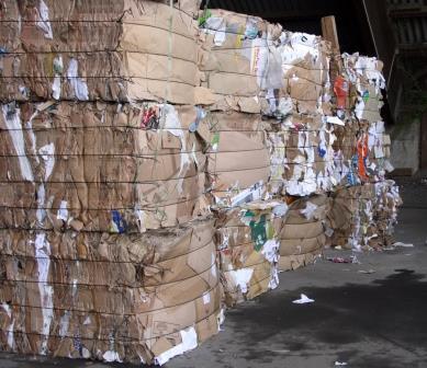 Altpapier fällt im Kreis in großen Mengen an