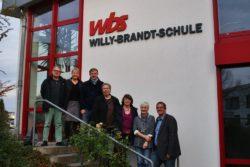 Auch die Grüne Fraktion hat im vergangenen Jahr die Willy-Brandt-Schule besucht. Mit dem Wunsch nach einer umfassenden - auch energetischen - Sanierung konnte sie sich nicht durchsetzen.